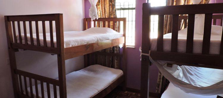 Standard dorm rooms -shared